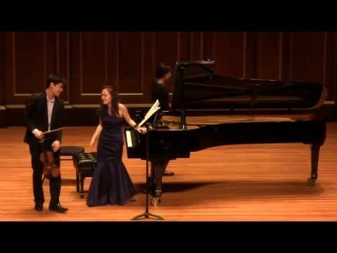 Angelo Xiang Yu and Qing Jiang - Beethoven Sonata for Violin and Piano No.7 Op.30 No.2