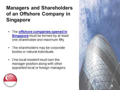 Create an Offshore Company in Singapore