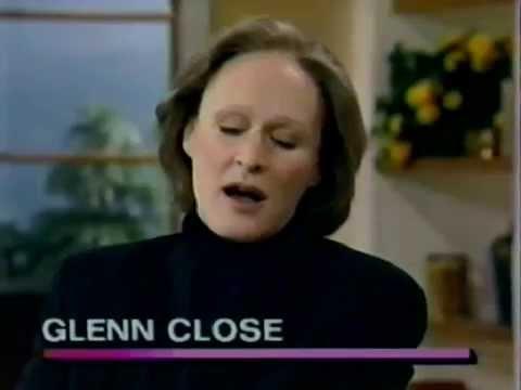 Glenn Close (SUNSET BOULEVARD) interviewed on LIVE! with Regis & Kathie Lee (25-Aug-1995)