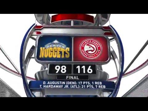 Denver Nuggets vs Atlanta Hawks - March 17, 2016