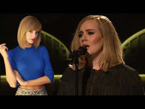Adele Reveals Taylor Swift Inspired Her Song 'Send My Love'!