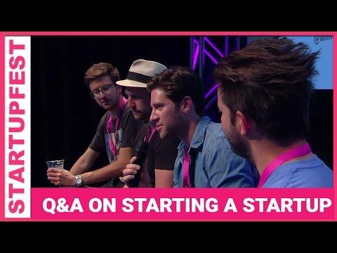 Starting Your Startup Q&A // Startupfest 2015