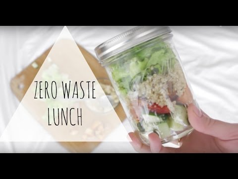 How To Pack A Zero Waste Lunch Back To School Zero Waste