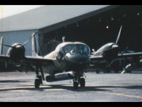 73rd SAC Vung Tau Vietnam War Home Movies OV-1 Mohawk