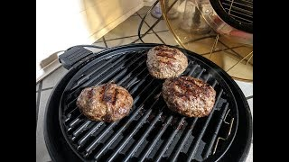 Fresh Burger Recipe, NuWave Primo Grill Oven