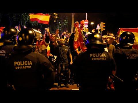 تواصل المظاهرات في برشلونة لليوم الرابع على التوالي عشية إضراب عام  - 10:55-2019 / 10 / 18