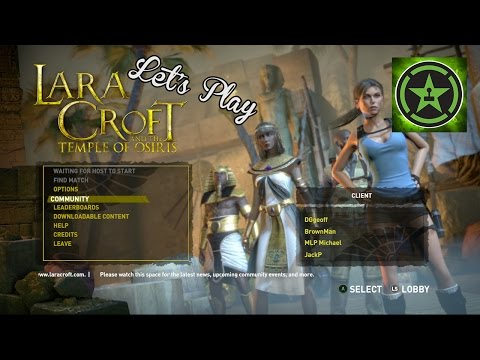 Let's Play - Lara Croft and the Temple of Osiris