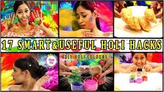 17 New Holi Hacks You Must TryHomemade Holi ColoursGujiya Recipe Be Natural