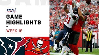 Texans vs. Buccaneers Week 16 Highlights | NFL 2019