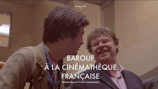 Barouf à la Cinémathèque Française (Damien Blanc Vs French Cinematheque) with english sub