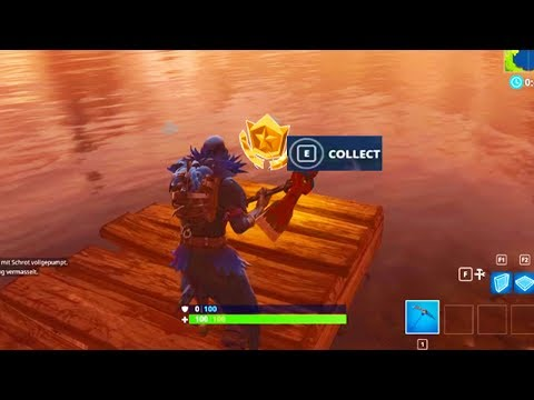 """Search Between Three Boats"" Location Fortnite Week 8 Challenges!"