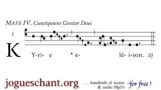 Gregorianischer Choral - Kyrie IV  - mp3  free
