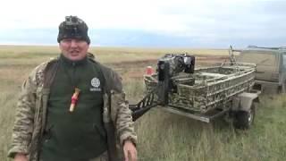 Сперва мы на ней, теперь она на нас))) Охота на утку Сибирь.