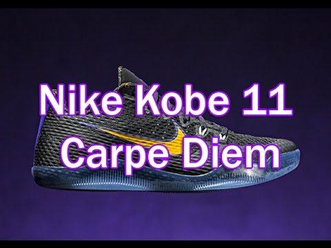 c5f2a3d6ef3e Nike Kobe 11 Carpe Diem Preview