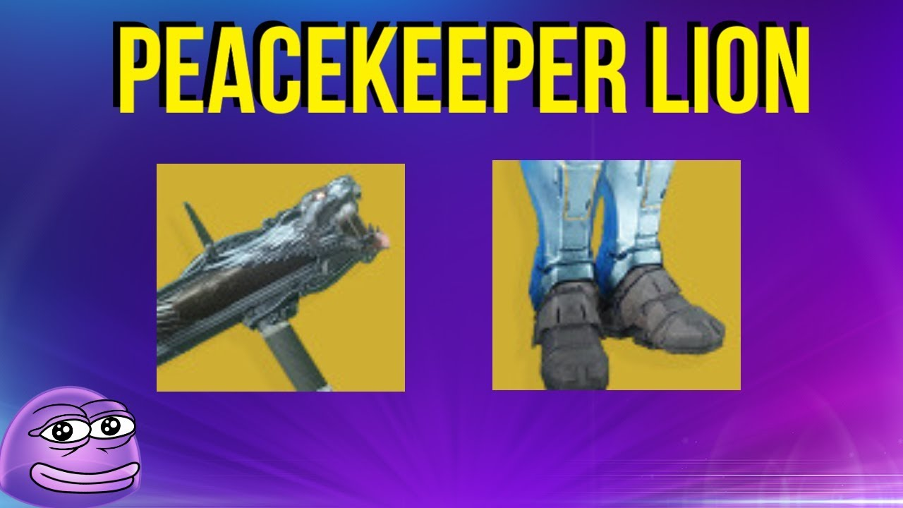 FRAGGING With Fighting Lion And Peacekeepers! Destiny 2 - Destiny