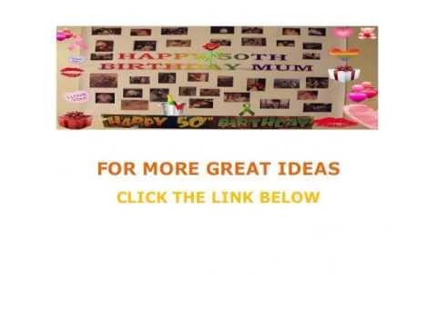 ideas for 50th birthday | 50th birthday ideas | 50th birthday ideas for men | unique | best | funny