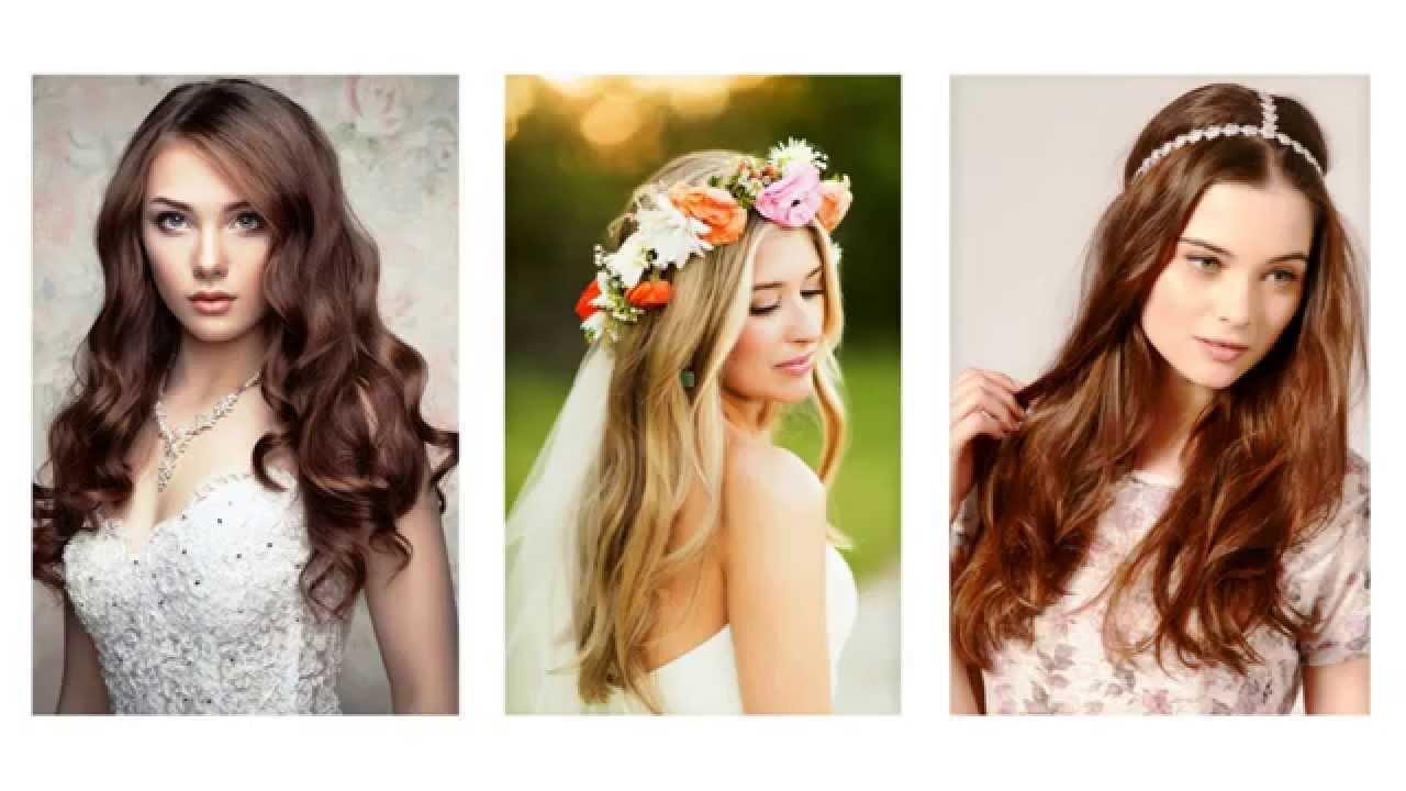 Peinados de boda pelo largo y suelto