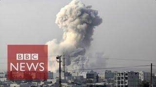 Air strike frequency - IS fight v WW2 - BBC News