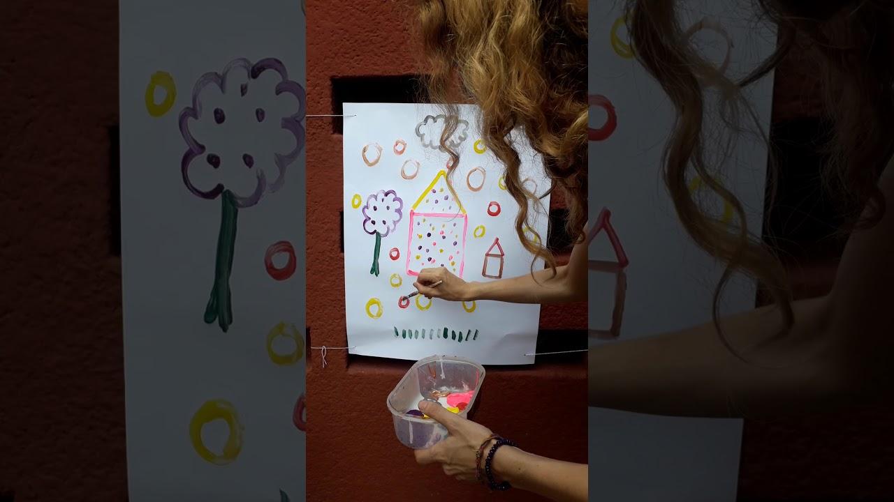 L Ecole A La Maison Peinture Vocabulaire De Position Suite Maternelle Ms Youtube