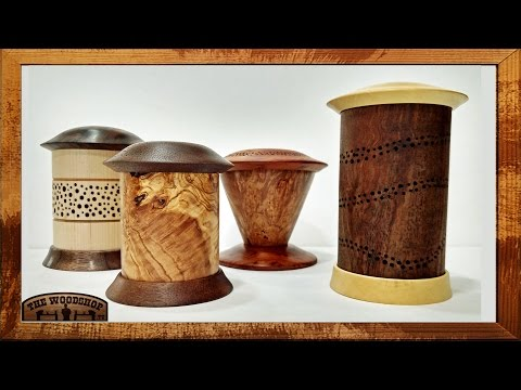 Woodturning Lidded Boxes | Carl Jacobson
