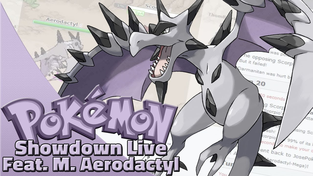 mega aerodactyl team pokemon sun and moon ou showdown live w