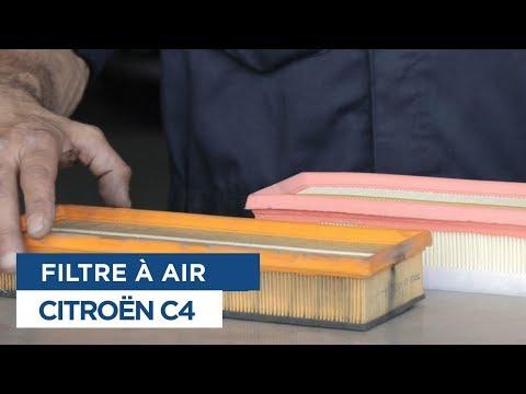 Changer le Filtre à air - Citroën C4