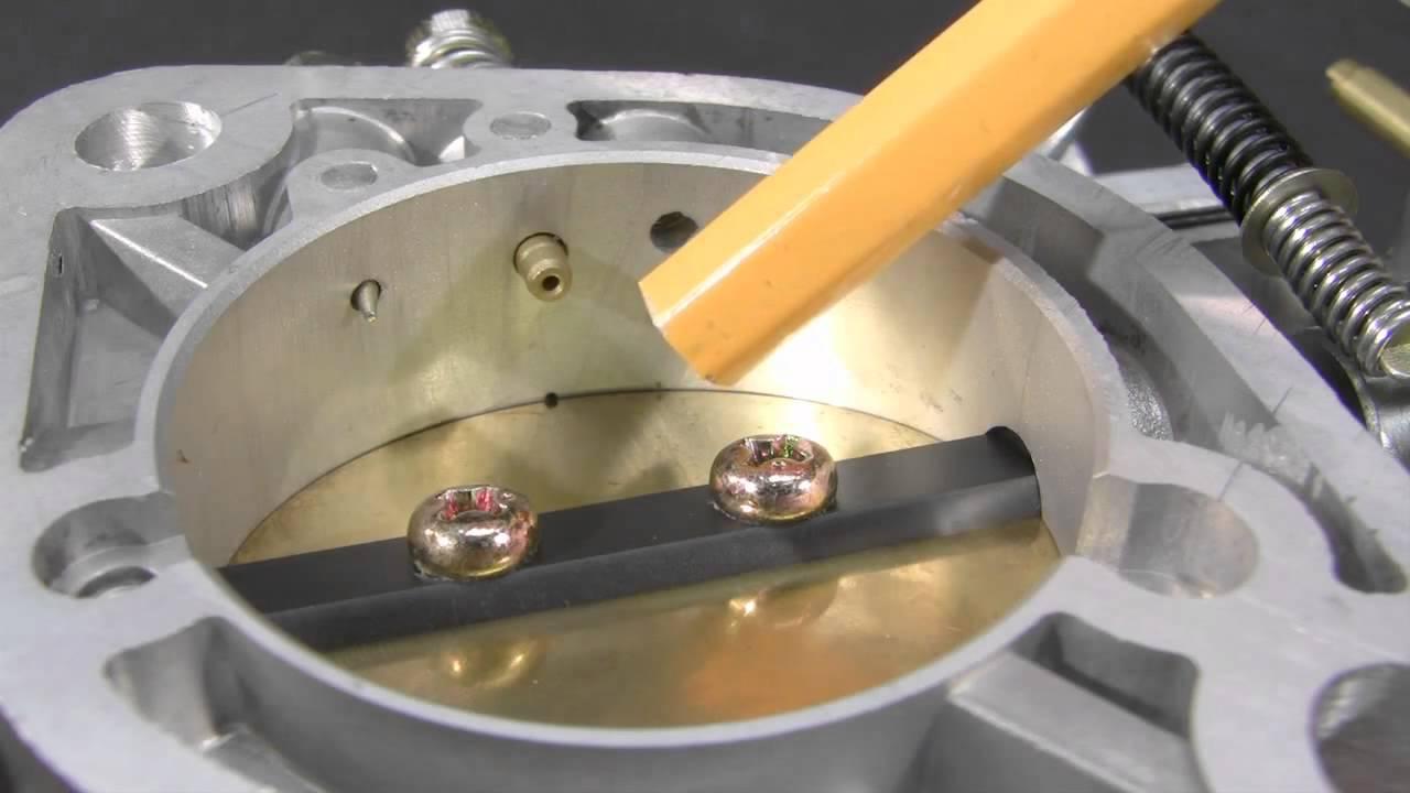 hight resolution of empi hpmx carb adjustments for vw motor