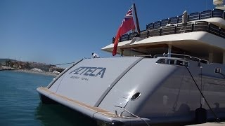 72meter Super Yacht Azteca visit Sotogrande