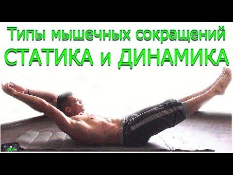 Изометрические упражнения статические нагрузки