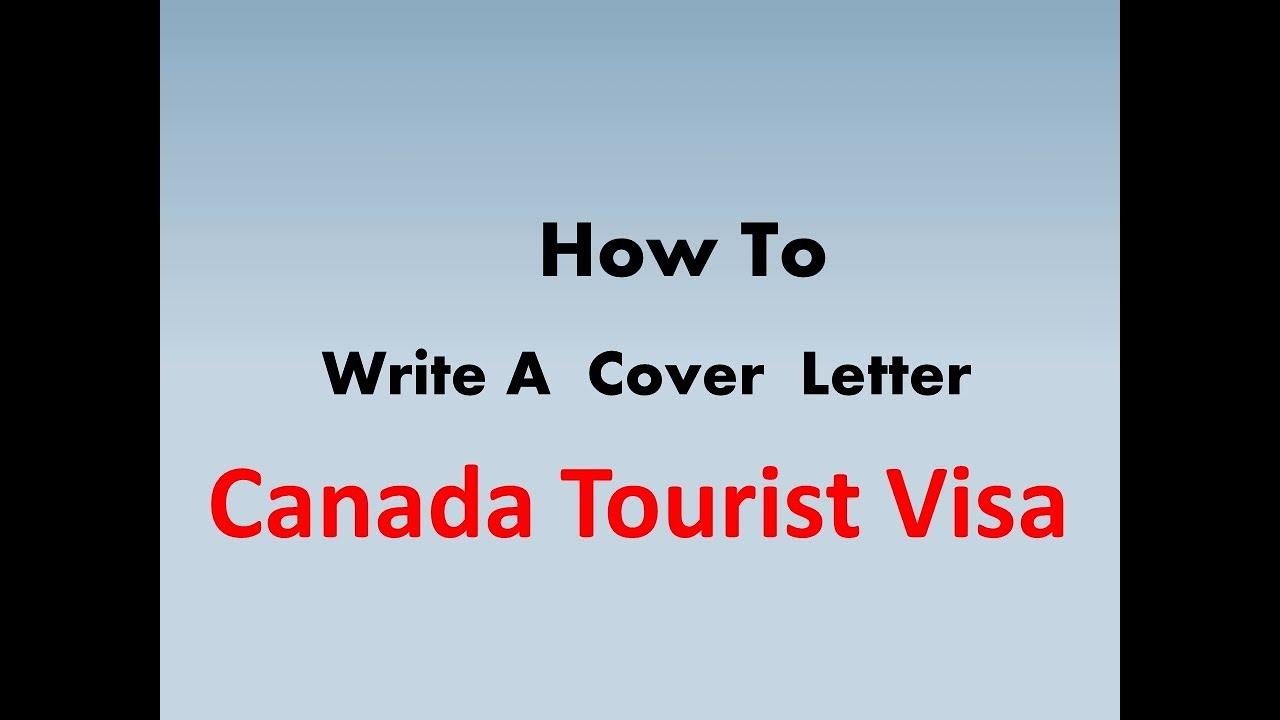 tourist visa covering letters