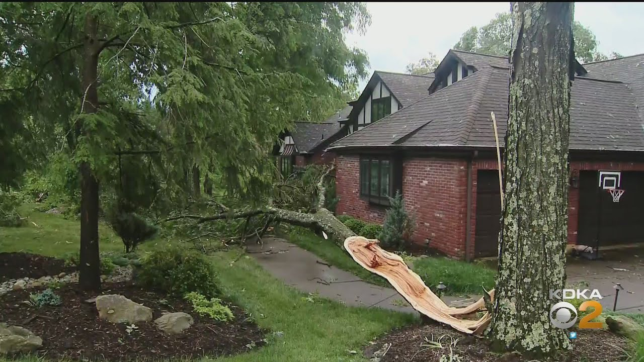 Clean Up Underway Following Severe Sunday Storms