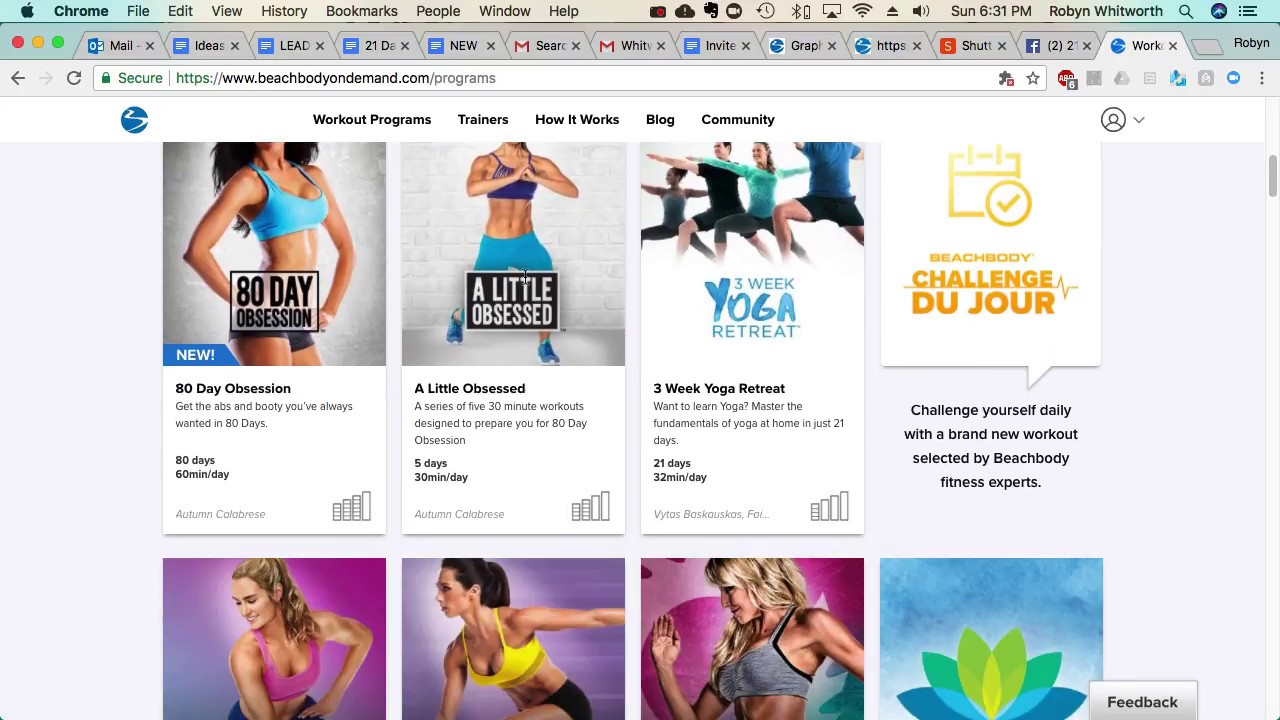 Where do I find my Program Materials with Beachbody On demand?