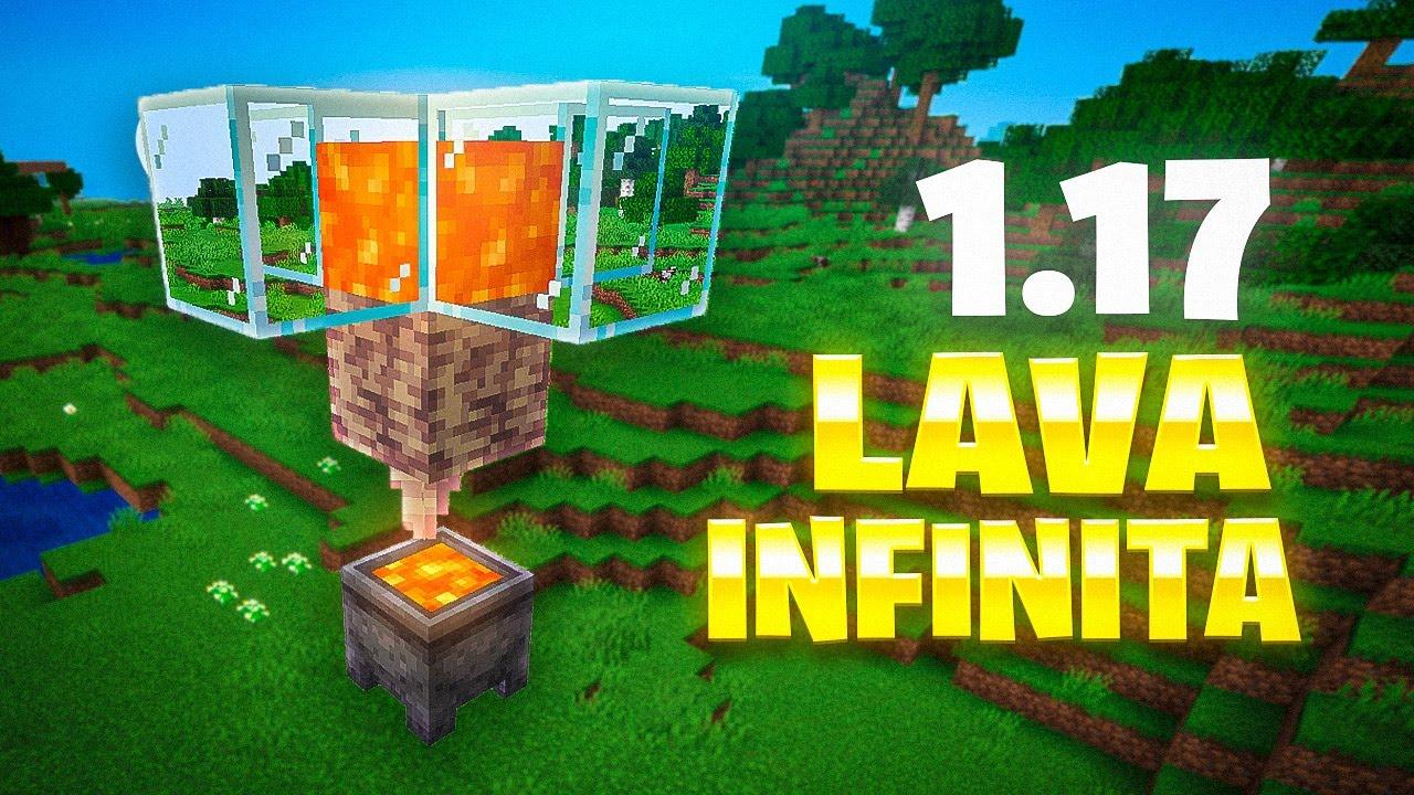 LAVA INFINITA en Minecraft 1.17
