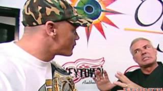 Vince Mcmahon says whats good my nigga to John Cena HD