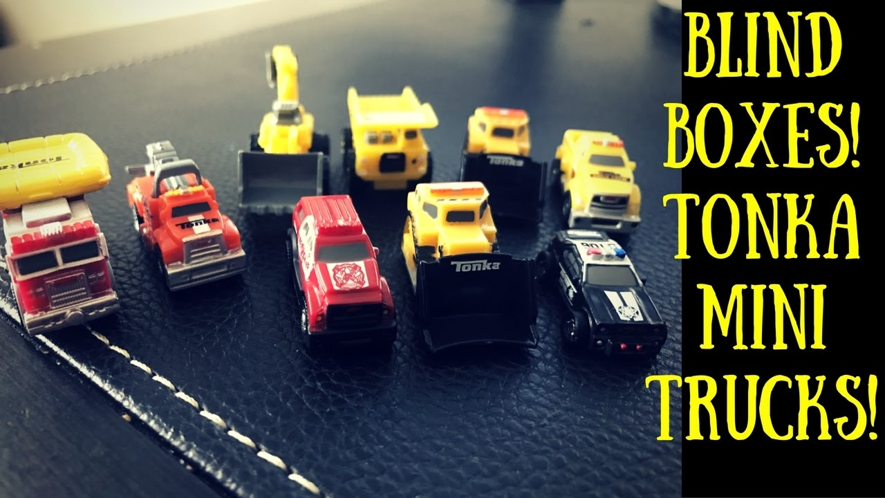 Surprise Blind Boxes Tonka Mini Trucks Youtube