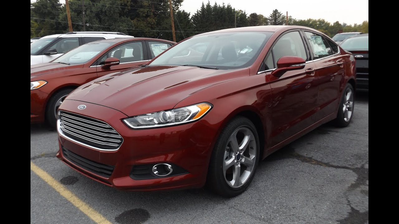 2014 Ford Fusion Se 2 0l Start Up Tour And Review Youtube