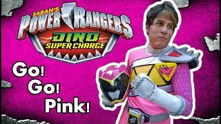 Power Rangers Dino Charge Pink