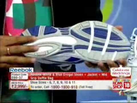 Reebok Shoes+Jacket+Duffle Bag