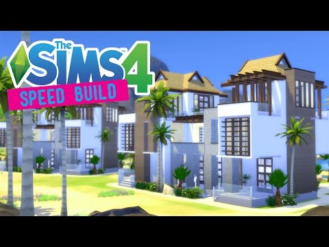 The Sims 4 -Speed Build- Coconut Lagoon! (Tropical Getaway)