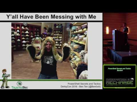 106 PowerShell Secrets and Tactics Ben0xA