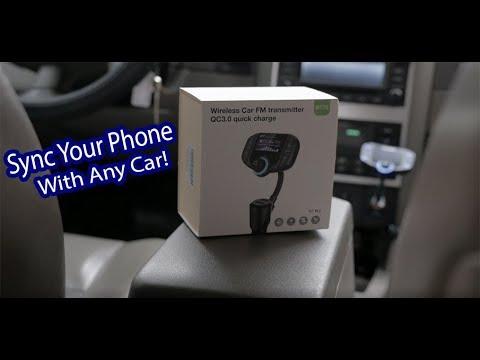 ABOX Wireless Car Bluetooth FM Transmitter BT70 Review