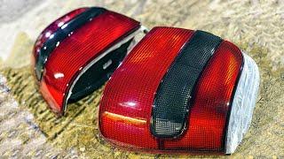 Восстановление фар автомобиля лаком