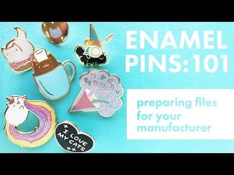 Enamel Pins 101: Preparing Designs for an Enamel Pin Manufacturer