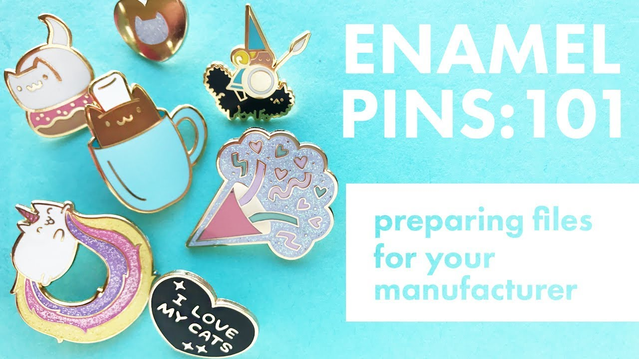 Enamel Pins 101: Preparing Designs For An Enamel Pin Manufacturer