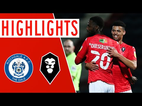 Rochdale Salford Goals And Highlights