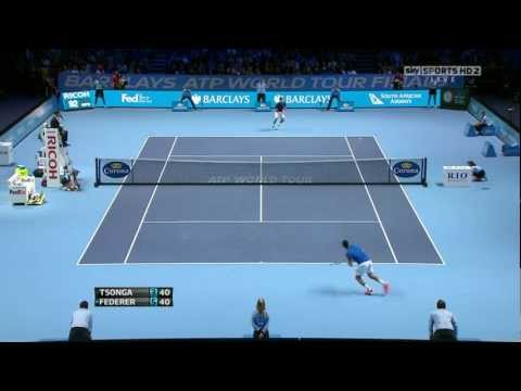 ATP World Tour Finals 2011 Finale - Roger Federer vs Jo-Wilfried Tsonga
