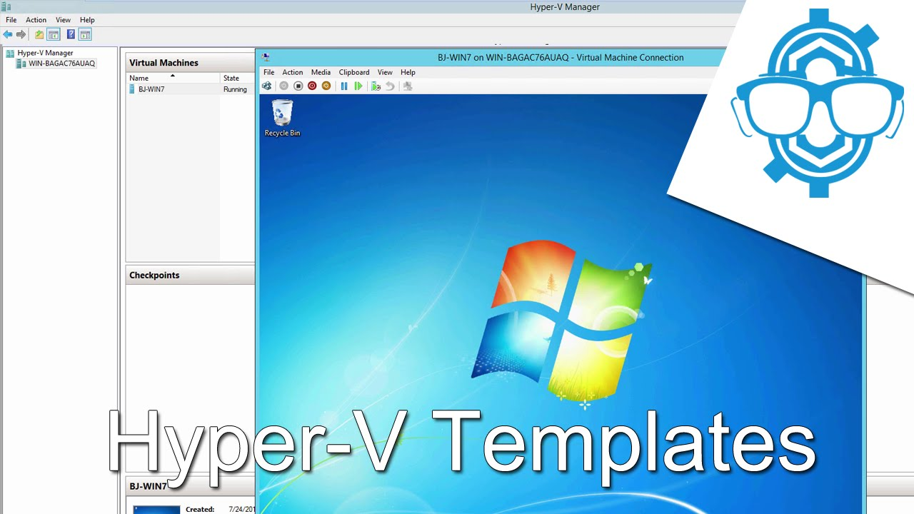 How To Create And Deploy Hyper V Templates With Virtual Machine