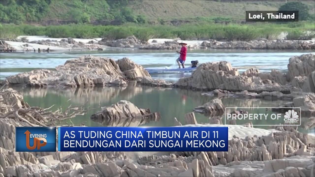 Sungai Mekong Jadi Arena Baru Perang Dingin AS-China