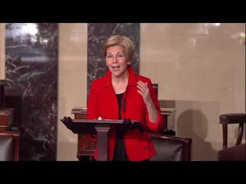 Senator Elizabeth Warren Condemns Republican Effort to Repeal SEC Extraction Rule