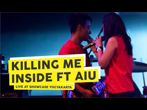 [HD] Killing Me Inside Ft AIU - Biarlah (Live at Showcase Februari 2018, Yogyakarta)